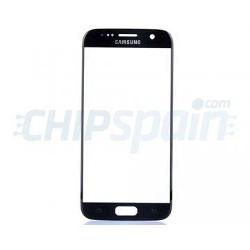 Front Screen Outer Glass Lens for Samsung Galaxy S7 G930F Dark Blue