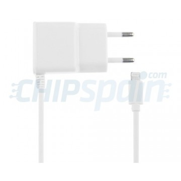 Adaptador de Corriente a Lightning 2.1A Blanco