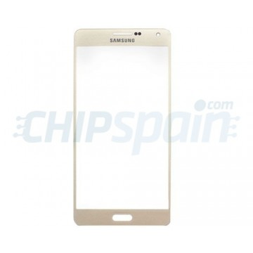 Front Screen Outer Glass Lens for Samsung Galaxy A7 A700F Gold