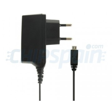 AC Adapter to MicroUSB 2A Black