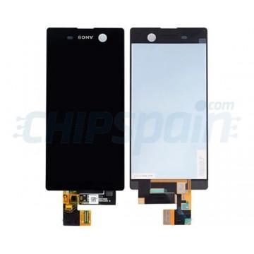 Ecrã Tátil Completo Sony Xperia M5 E5603 E5606 E5653 Preto
