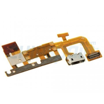 Flex Conector de Carga, Sensor de Proximidad y Micro Huawei Ascend P6