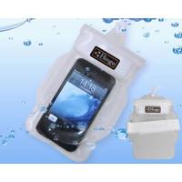 Caixa Estanque para iPhone Smartphone Branco Transparente