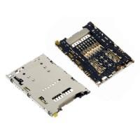 SIM, Micro SD cartão módulo interno do leitor Sony Xperia Z5 E6603