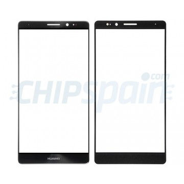 Front Screen Outer Glass Lens for Huawei Mate 8 Black
