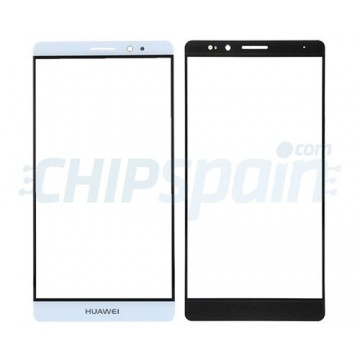 Front Screen Outer Glass Lens for Huawei Mate 8 White