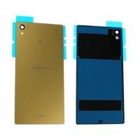 Tampa Traseira de Vidro Sony Xperia Z5 Premium E6853 E6883 Ouro
