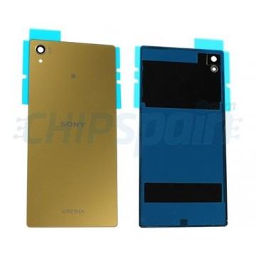 Glass Back Cover Sony Xperia Z5 Premium E6853 E6883 Gold