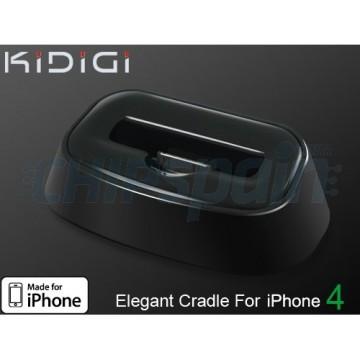 Base de carregamento Elegante Kidigi iPhone 4/4S