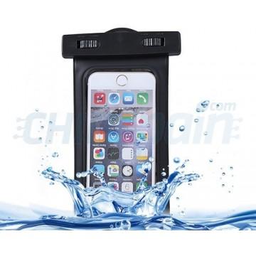 Capa impermeável do iPhone Smartphone Preto