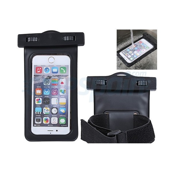 cheap for discount 4e850 4304b Waterproof Carrying Case iPhone Smartphone Black