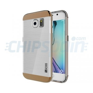 TPU Case Slicoo Samsung Galaxy S6 Edge G925F Transparent/Coffee