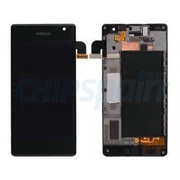 Tela Cheia com Frame Nokia Lumia 735 Nokia Lumia 730 Preto