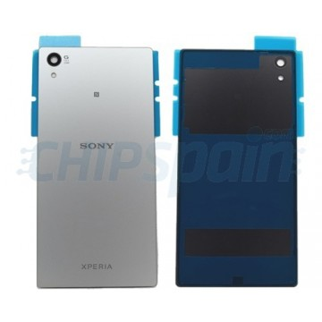 Glass Back Cover Sony Xperia Z5 Premium E6853 E6883 Silver