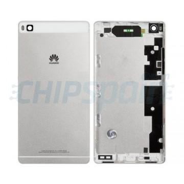 Carcasa Trasera Huawei P8 Plata