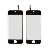 Vidro Digitalizador Táctil iPhone 5C iPhone 5S iPhone SE Preto