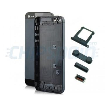 Carcasa Trasera Completa iPhone 5 Negro