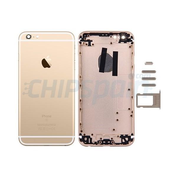 a1555cf8390 Carcasa Trasera Completa iPhone 6S Oro - ChipSpain.com