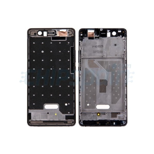 Front Frame LCD Screen Huawei P9 Lite Black - ChipSpain.com