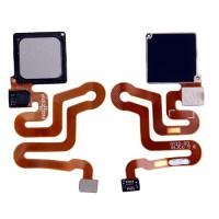 Botão Home Completo com Flex Huawei P9 Cinza