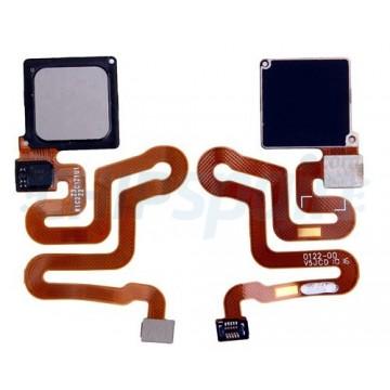 Botón Home Completo con Flex Huawei P9 Gris