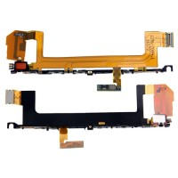 Flex Botones Laterales y Vibrador Sony Xperia X F5121 F5122