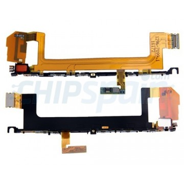 Flex buttons side and vibrator Sony Xperia X F5121 F5122