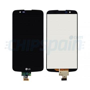 Ecrã Tátil Completo LG K10 K420N K430DS K410 Preto