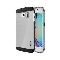Funda de TPU Slicoo Samsung Galaxy S6 Edge G925F Transparente/Negro