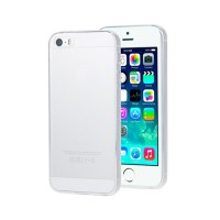 Cover iPhone 5 iPhone 5S iPhone SE Ultra-fine silicone Transparent