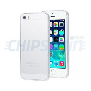 Capa iPhone 5 iPhone 5S iPhone SE Silicone ultra fino Transparente
