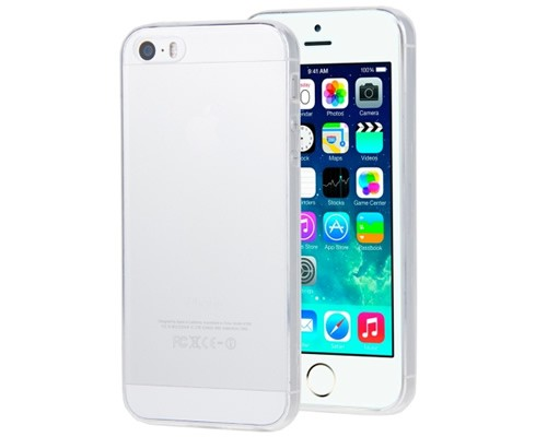 dceb3be4edf Funda Silicona iPhone 5 5S SE Transparente