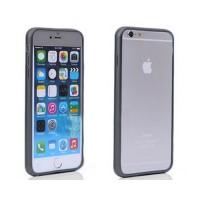 Bumper iPhone 6 iPhone 6S Negro Transparente