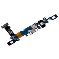Flex conector de carga, Jack de áudio e Microfone Samsung Galaxy C5 C5000