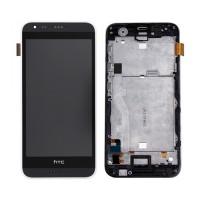 Tela Cheia com Frame HTC Desire 620 Preto