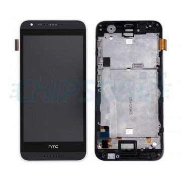 Pantalla Completa con Marco HTC Desire 620 Negro