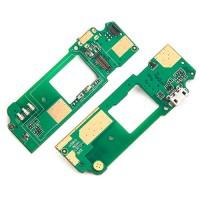 Placa con Conector de Carga Micro USB y Micrófono HTC Desire 620
