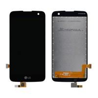 Ecrã Tátil Completo LG K4 LTE K121 K120E Preto