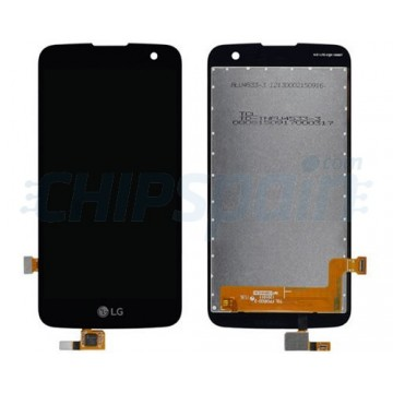 Pantalla LG K4 LTE K121 K120E Completa Negro