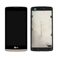 Pantalla Completa con Marco LG Leon 4G LTE H340N Oro