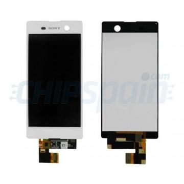 Pantalla Sony Xperia M5 E5603 E5606 E5653 Completa Blanco