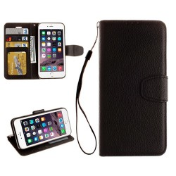 Funda de Piel iPhone 7 Negro