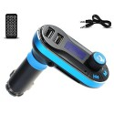 Transmitter FM Bluetooth, hands free and charger's drive for mobile phone