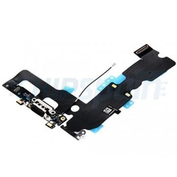 Cable Flex Conector Carga Audio y Micrófono iPhone 7 Plus Negro