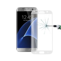 Screen Protector Tempered Glass Curved Samsung Galaxy S7 Edge Transparent