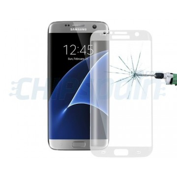 Protector de Pantalla Cristal Templado Curvo Samsung Galaxy S7 Edge