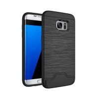 Funda Samsung Galaxy S7 Edge G935F Brushed Series Preto