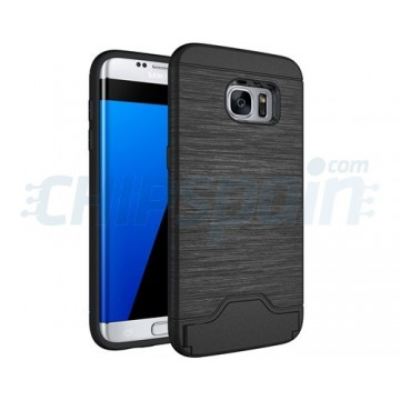 Cover Samsung Galaxy S7 Edge G935F Brushed Series Black