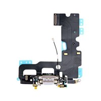 Cable Flex Conector Carga Audio y Micrófono iPhone 7 Gris