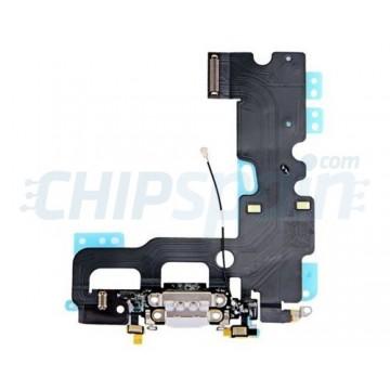 Cable Audio/Dock/Antena/Mic para iPhone 7 Cinza